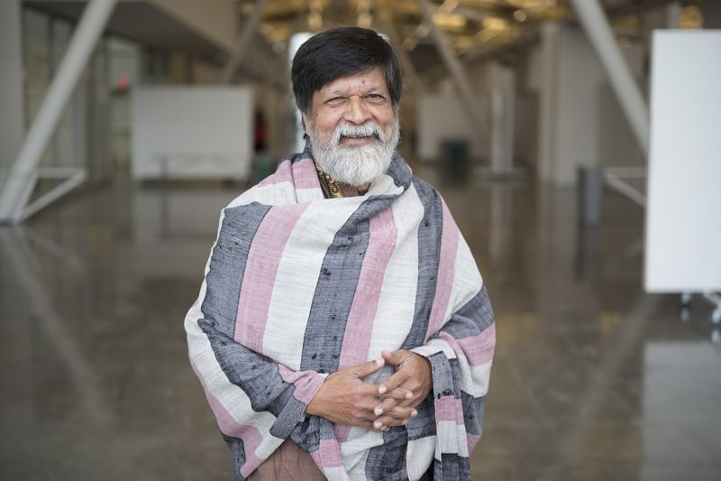 Shahidul Alam in 2017. Image courtesy of creative commons.