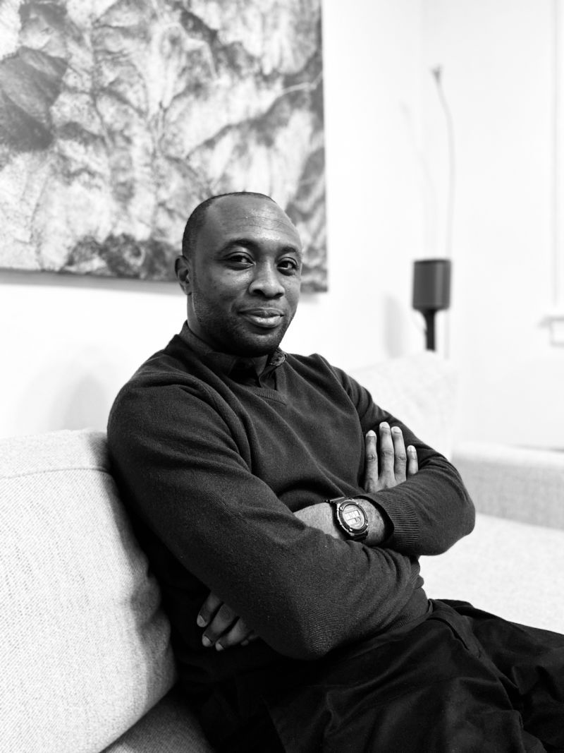 Emmanuel Iduma. Photograph by Josh Begley.