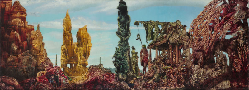 Max Ernst. Europe after the Rain II. 1940-42. The Wadsworth Atheneum Museum of Art: The Ella Gallup Sumner and Mary Caitlin Sumner Collection Fund, 1942.281