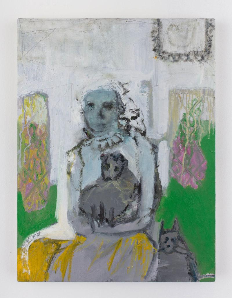 Julia Schwartz, Family Portrait, 2020 Oil on linen. 24 x 18 in