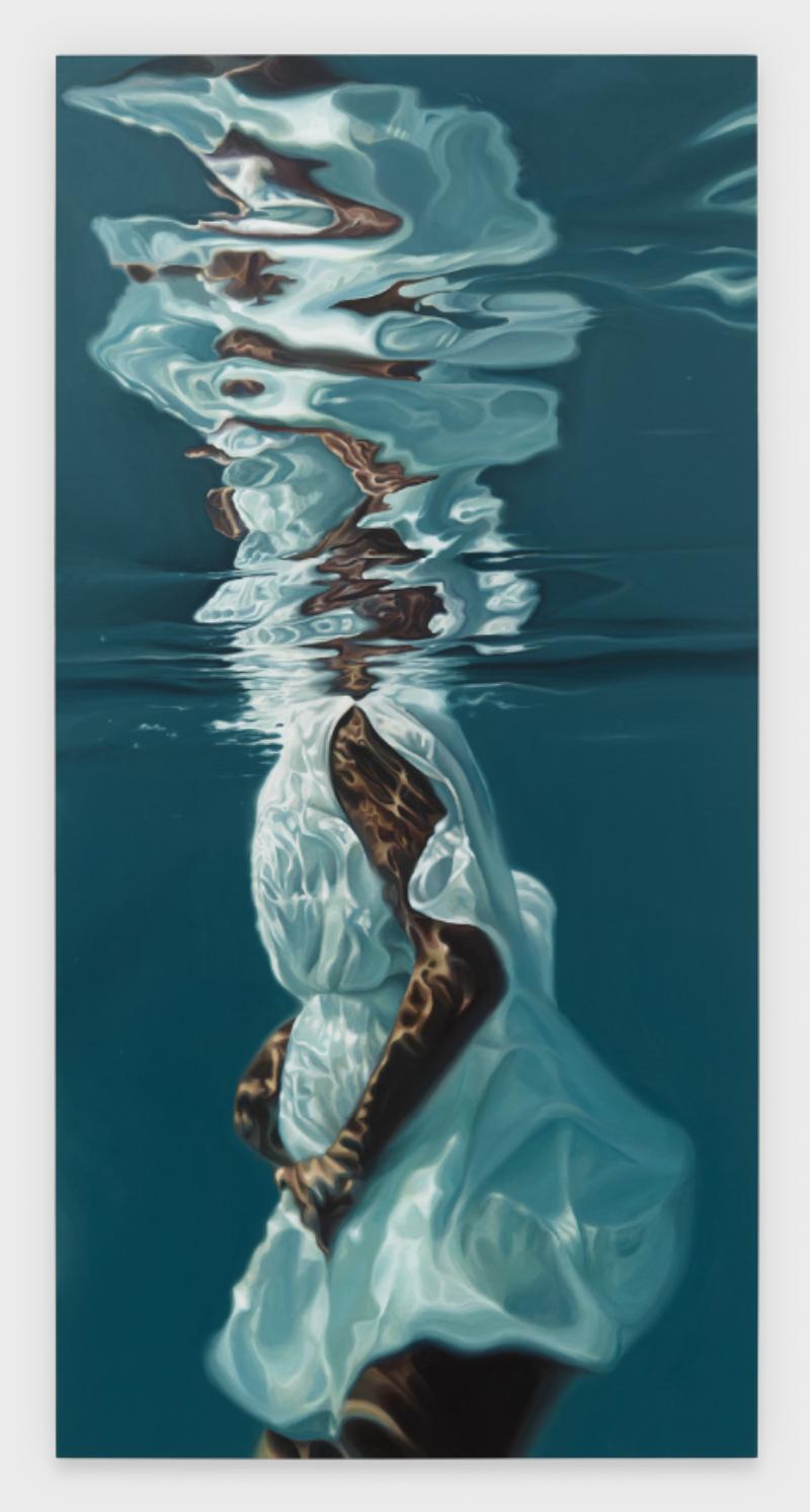 Calida Rawles, Guardian, acrylic on canvas, 2020.