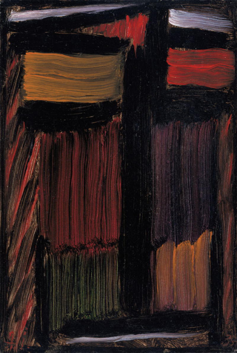 Alexei Jawlensky. Meditation: My Spirit Will Live On, Oil on cardboard, 1935. Museum Wiesbaden.