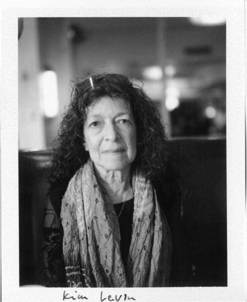 Kim Levin. Photograph by Seymour Templar.