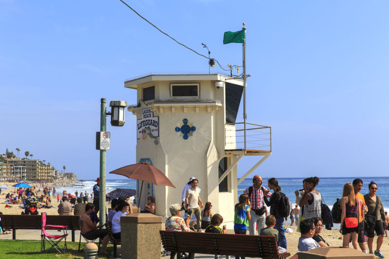 Laguna Beach in 2014. Photo by Tom Lamb.