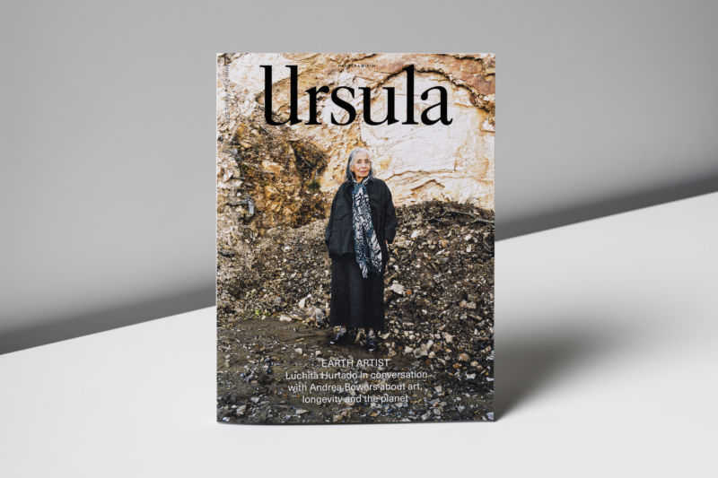Ursula Issue 2 by Hauser & Wirth Publishers. Photo by Ed Park.