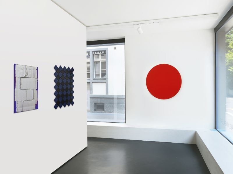 Installation view, Patterns II at Anne Mosseri-Marlio Galerie, Basel.