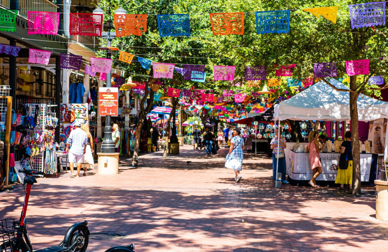Photograph of El Mercado from San Antonio's official Parks and Recreation website